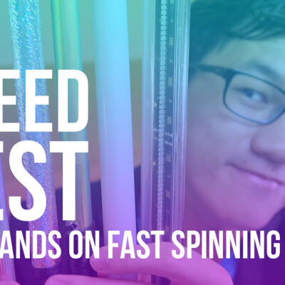 Speed Test: Leviwands with Fast Spinning